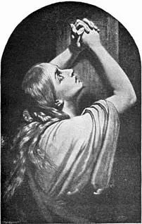 Mary Magdalene, in a dramatic 19th-century