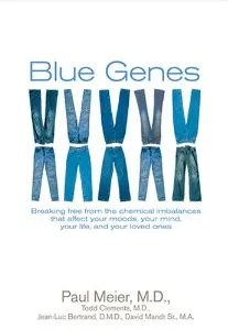 """Cover of """"Blue Genes"""""""