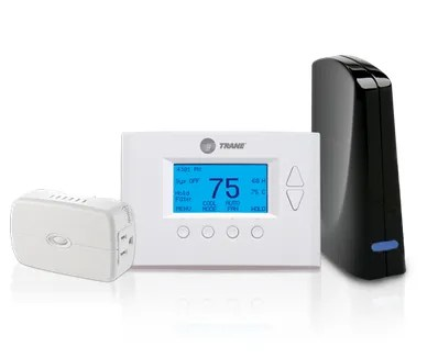 Nexia's Thermostat, Bridge, and Power Bundle
