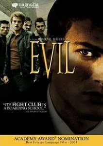 The cover for the Evil movie on some DVD's.