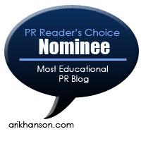Educational blog nomination