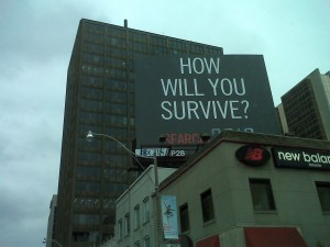 Billboard ad for 2012 movie