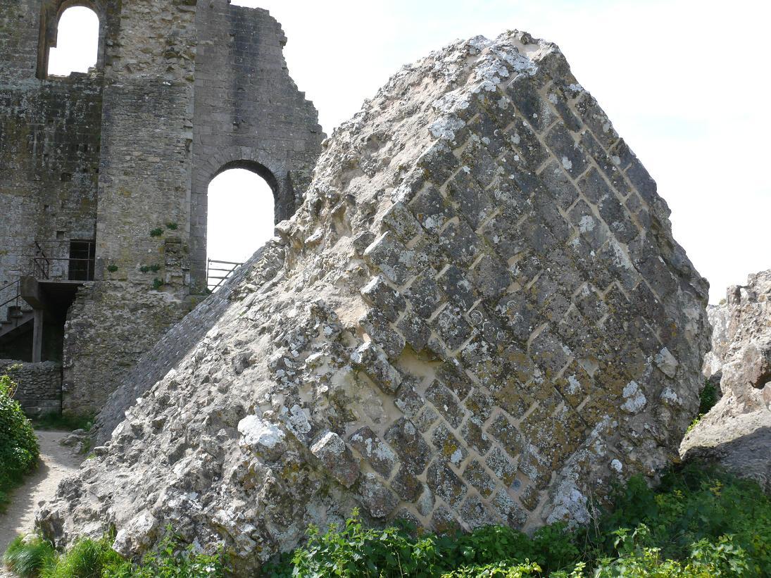 A piece of Corfe Castle