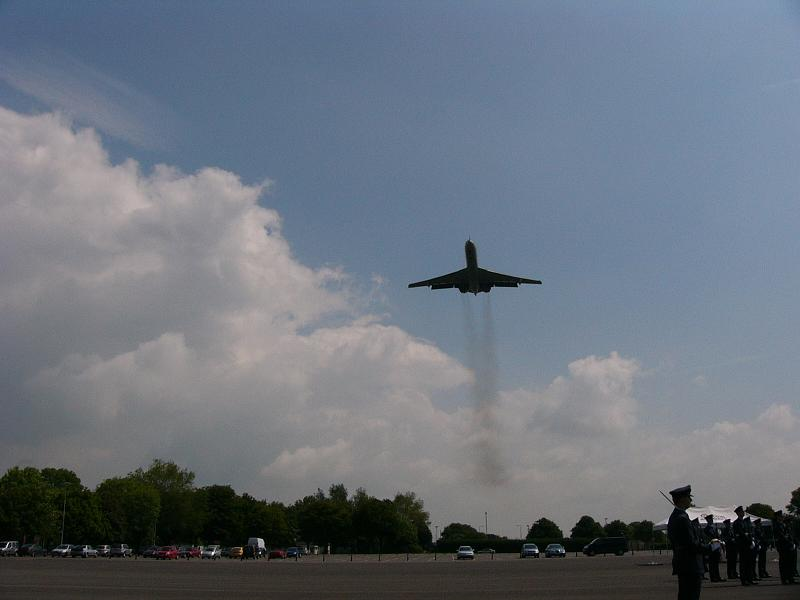Richard's personal flypast