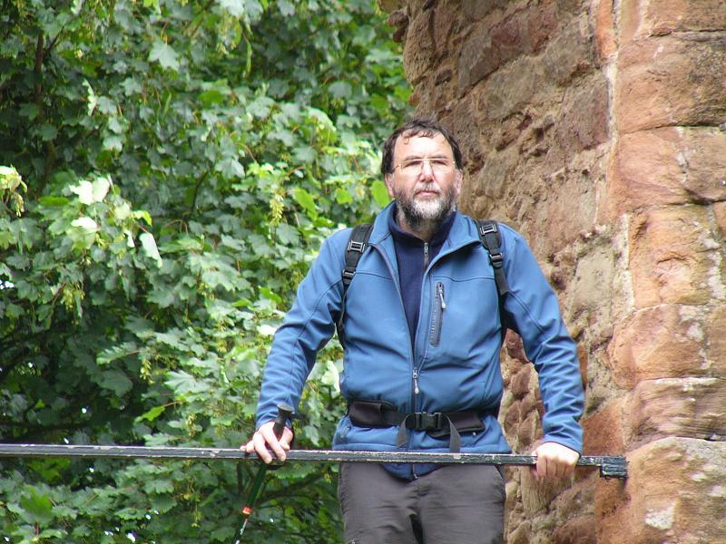 Dave at Ewloe Castle