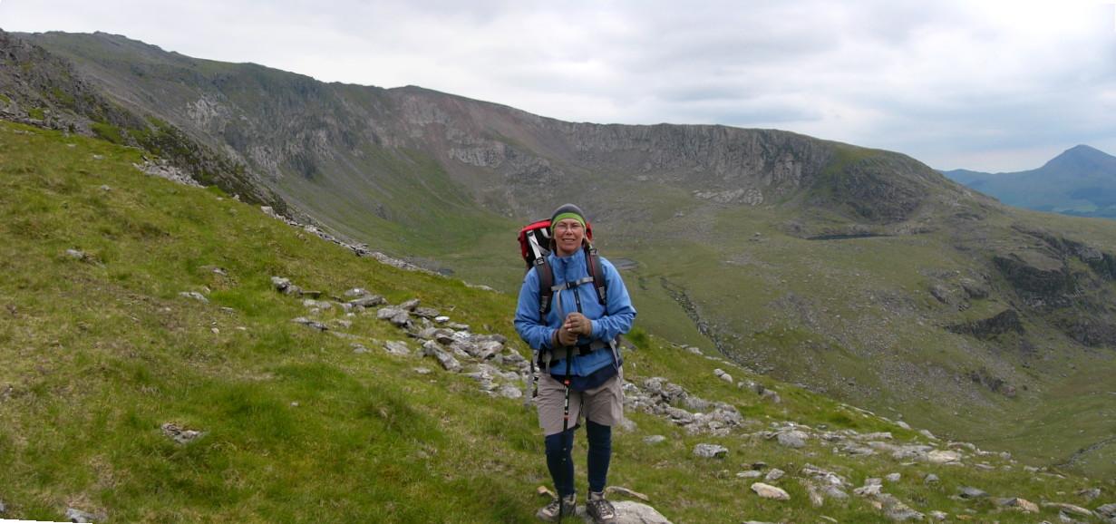 Rhyd Ddu from Snowdon Ranger Path