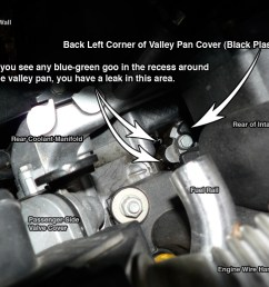 again a coolant leak will be blue green  [ 1024 x 768 Pixel ]