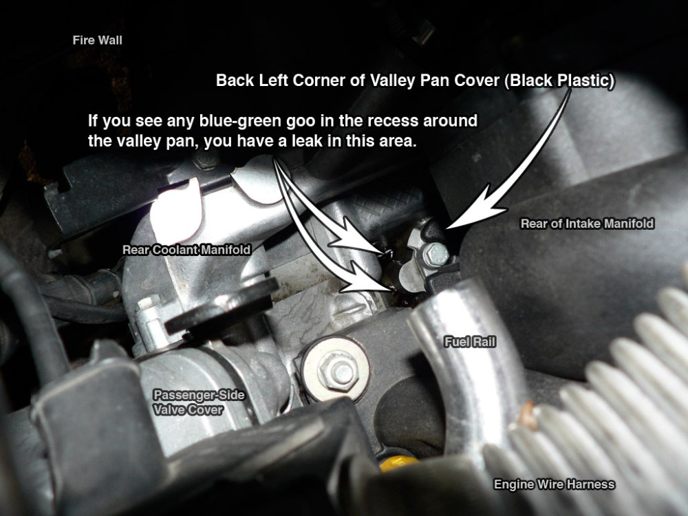 medium resolution of again a coolant leak will be blue green