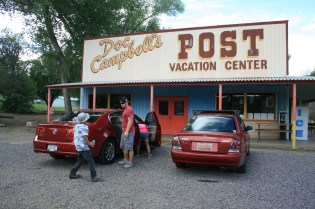 We stopped here on the way out for homemade ice cream! Yum!