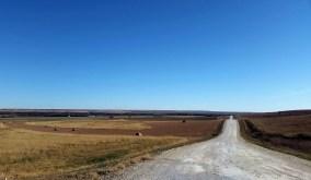 Limestone roads and rolling hills.