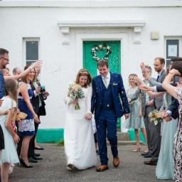 Nash Point Lighthouse wedding south wales Bridgend wedding photography