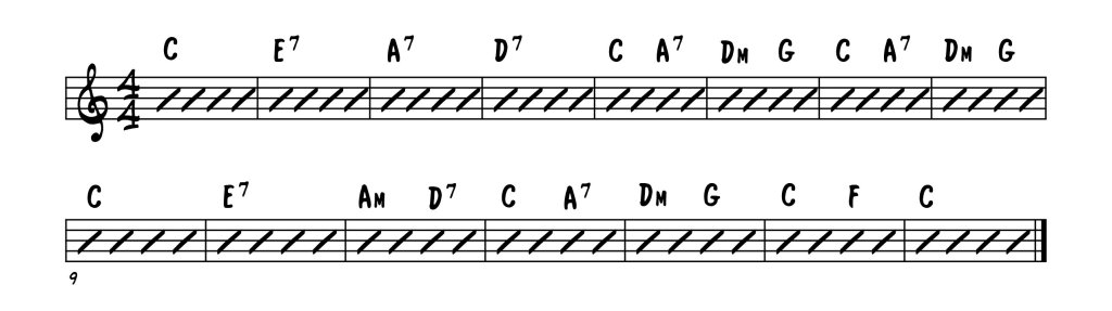 Georgia - verse chords