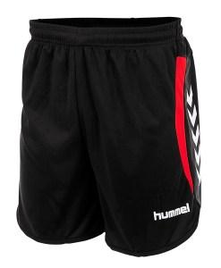Hummel short Odense Junior zwart rood
