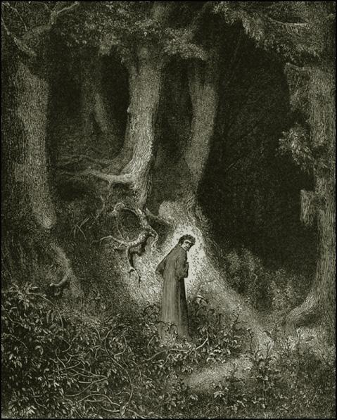 Image result for dante dark wood