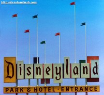 Vintage Disneyland Sign