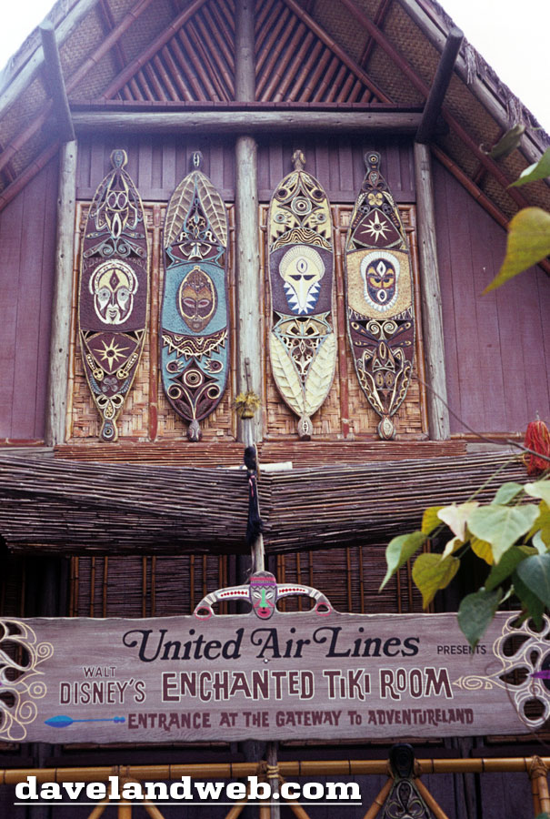 Daveland Disneyland Enchanted Tiki Room Photo Page