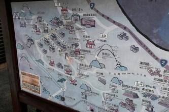 City Guide Map - Jiufen, Taiwan