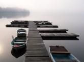 October on Bantam Lake