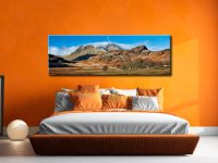 Last Snow On Langdales  - Canvas Print on Wall