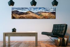 High Crag and Buttermere Panorama - Lake District Canvas on Wall