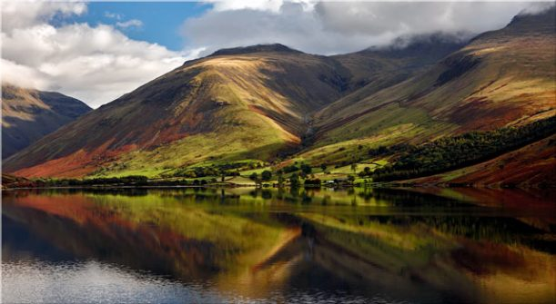 Green Fells of Wasdale - Canvas Print