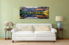 First Light at Buttermere  - Canvas Print on Wall