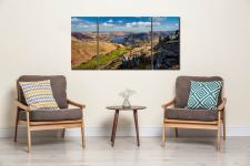 Ullswater from St Sunday Crag - 3 Panel Canvas on Wall