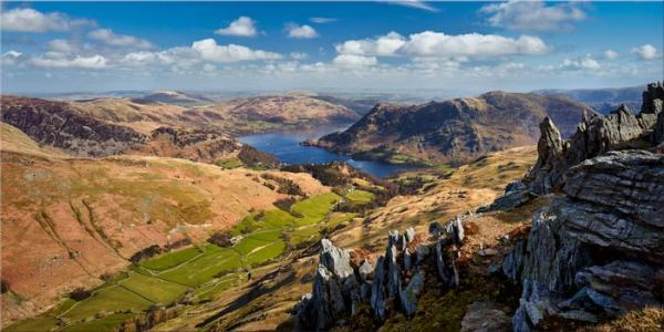 Ullswater from St Sunday Crag - Lake District Print
