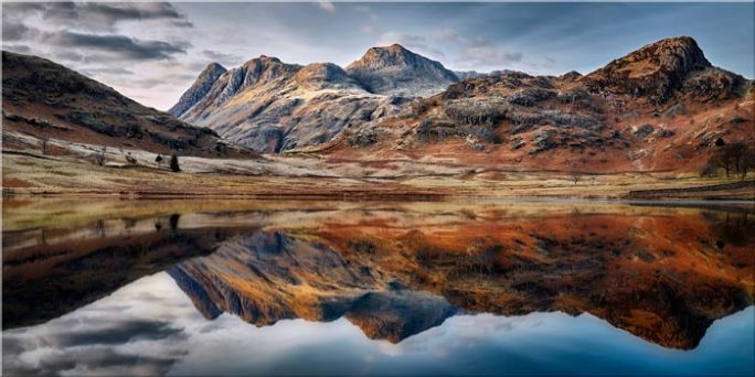 Dusk Over Blea Tarn - Canvas Print