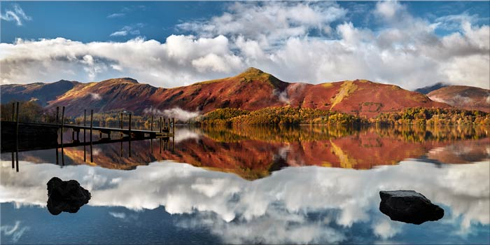Catbells in Autumn - Canvas Print