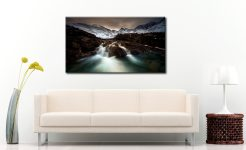 The Dark Fairy Pools - Canvas Print on Wall