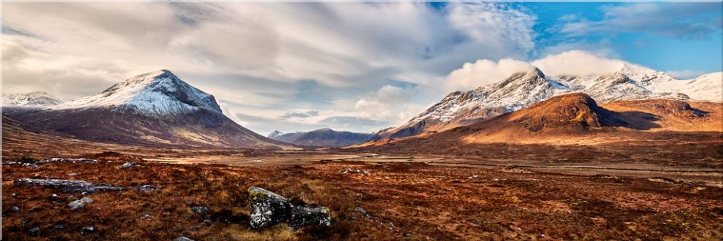 Cuillin Mountains from Glen Sligachan - Canvas Prints