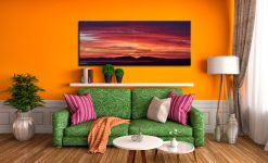 Colourful Hebredies Sunset - Canvas Print on Wall