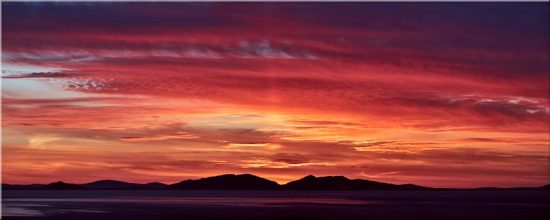 Colourful Hebredies Sunset - Canvas Prints