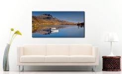 Peaceful Morning at Loch Fada - Canvas Print on Wall