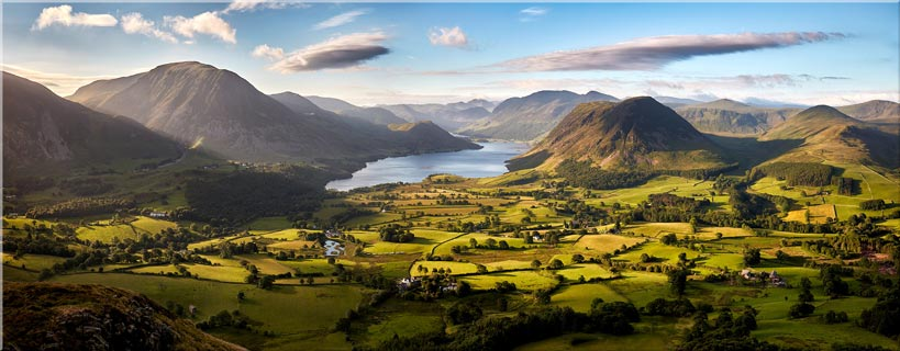 Loweswater Fell Vista - Canvas Prints