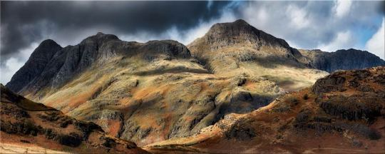 The Langdale Pikes - Canvas Prints