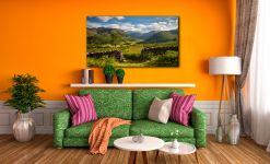 Green and Pleasant Land - Canvas Print on Wall