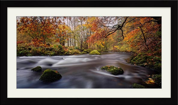Autumn Colours of River Rothay - Framed Print
