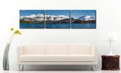 Skiddaw and Saddleback - 3 Panel Canvas on Wall