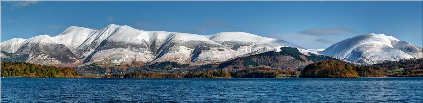 Skiddaw and Saddleback - Canvas Prints