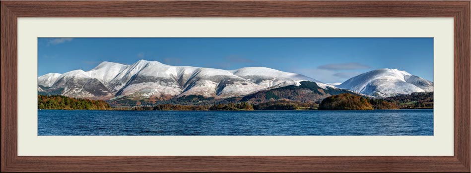 Skiddaw and Saddleback - Framed Print