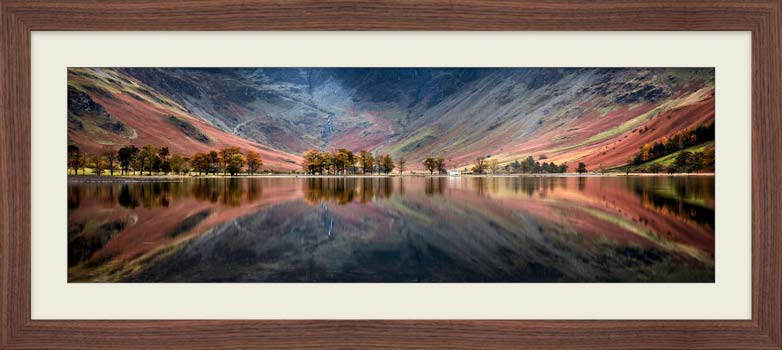 The Buttermere Bowl - Framed Print