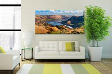 Ullswater From Harrison Crag - Canvas Print on Wall