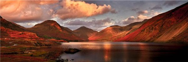 Dusk at Wast Water - Canvas Print