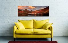 Dusk at Wast Water - Canvas Print on Wall