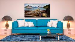 Elgol Beach Rocks - Canvas Print on Wall