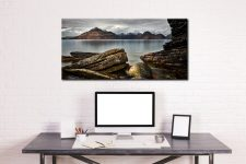 Cuillin Mountains From Elgol - Canvas Print on Wall
