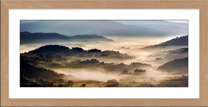 Rolling Hills of Little Langdale - Framed Print