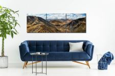 Deepdale Hause Panorama - 3 Panel Canvas on Wall